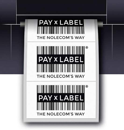 La soluzione PayxLabel un costo per etichetta