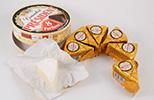 Etichette antimuffa su formaggi