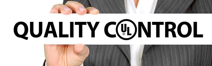 Qualità e controllo certificazione UL